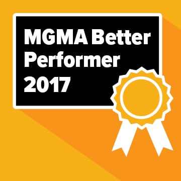 "Piedmont HealthCare Recognized as a ""Superior Performer"" in 2017 by MGMA"