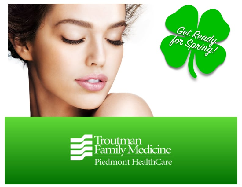 Get Ready For Spring at Troutman Family Medicine!