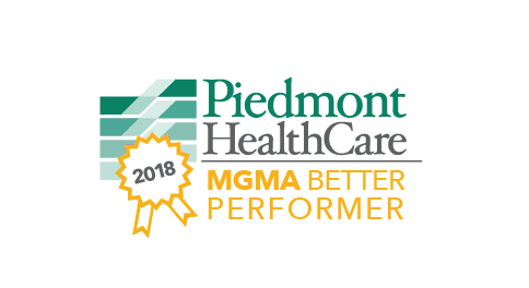 Piedmont HealthCare recognized by MGMA as a Better Performer for 2018