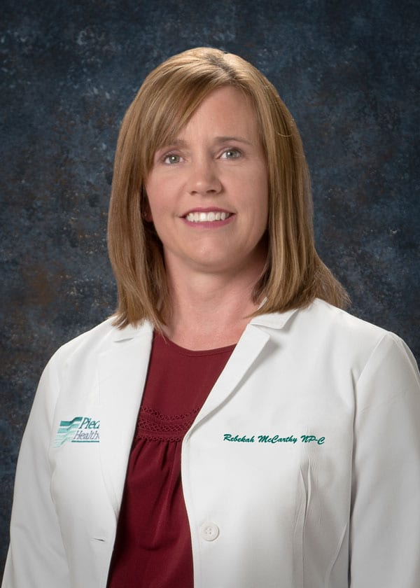Mccarthy Rebekah Msn Fnp C Piedmont Healthcare