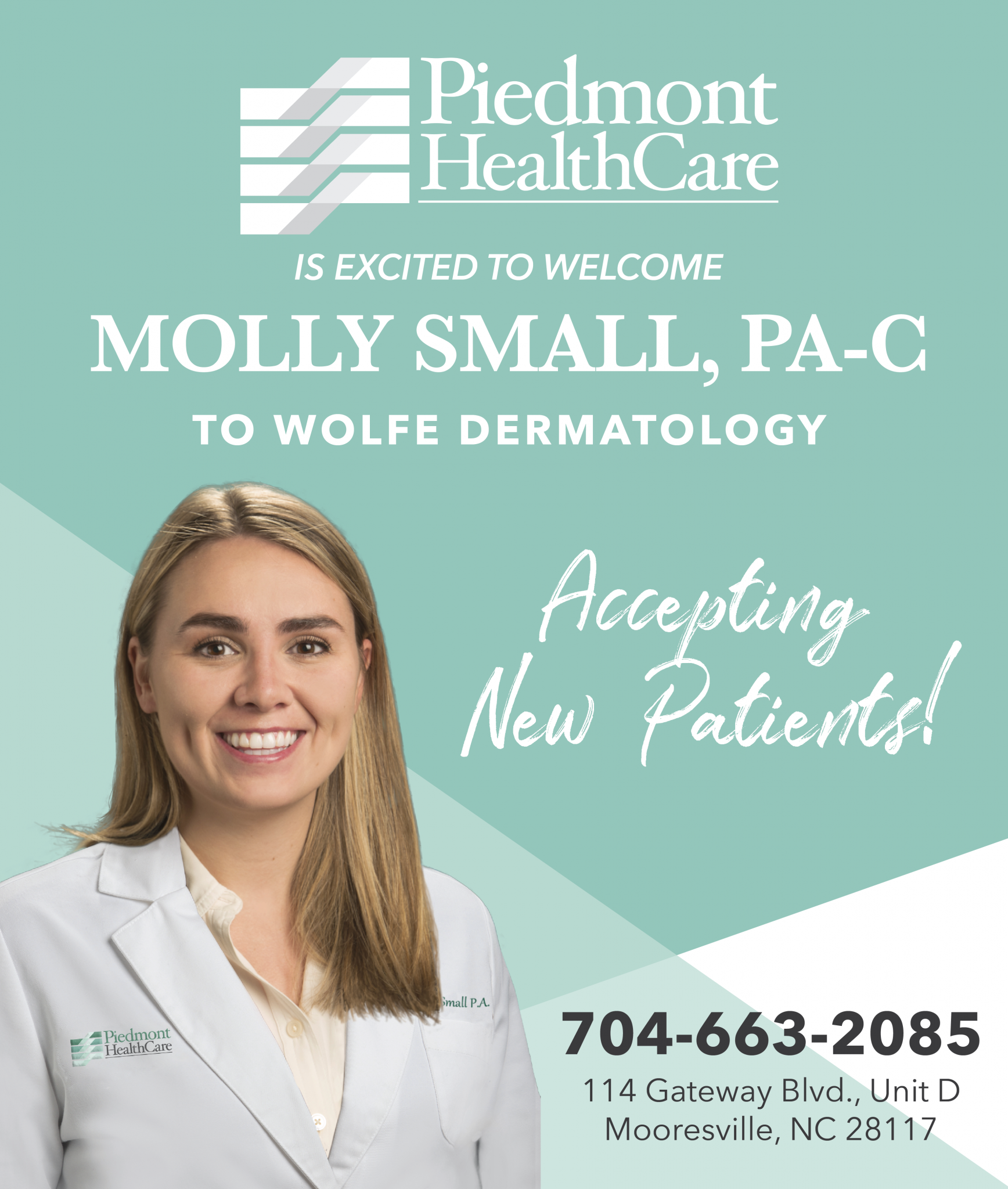 Molly Small joins PHC Wolfe Dermatology